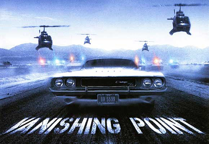 Dodge Challenger Vanishing Point Movie Poster