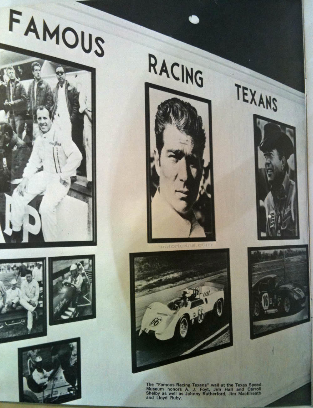 speed museum famous racing texans