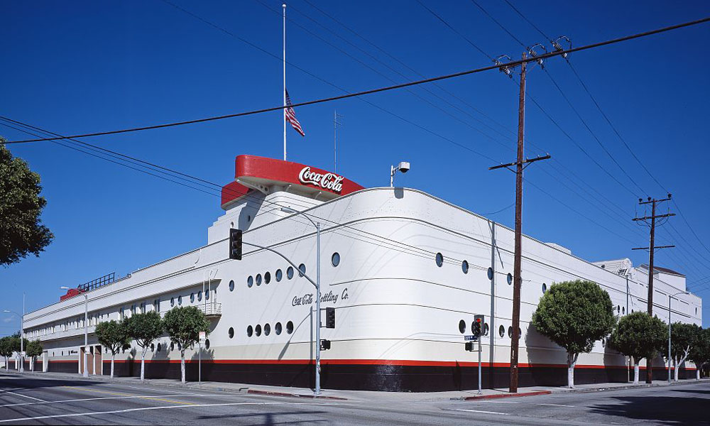 waco Coca Cola Bottling Plant Los Angeles