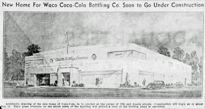 waco Coca Cola Bottling Plant